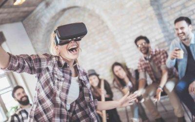 E) La Réalité Virtuelle révolutionne le Team Building