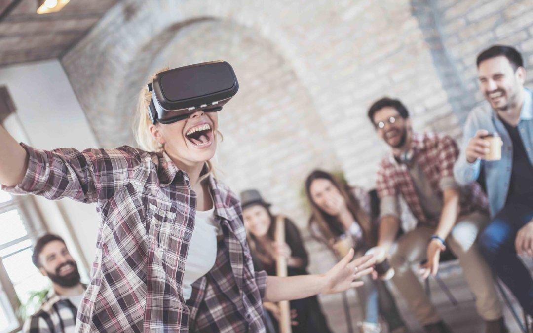 La Réalité Virtuelle révolutionne le Team Building