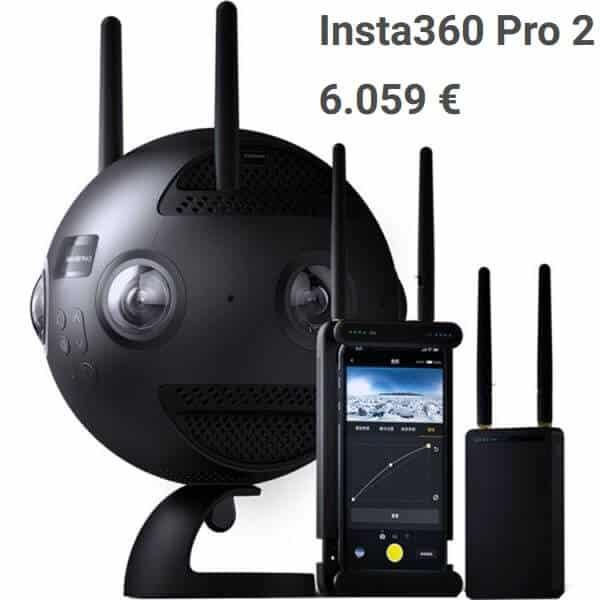 Insta360 Pro2 360°