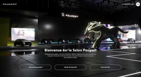 Salon virtuel Peugeot