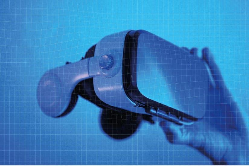 Canal de diffusion casque de VR