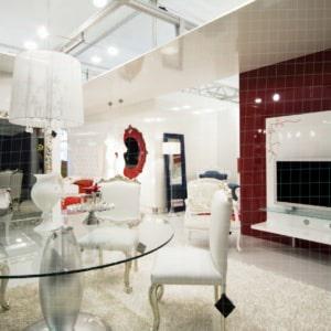 Showroom virtuel en 3D d'un salon
