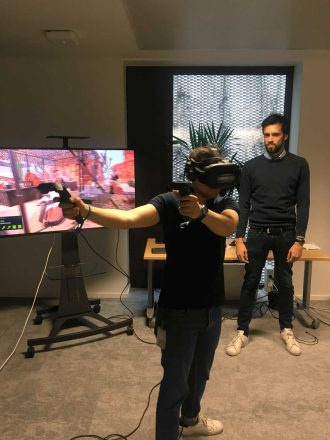 événement en réalité virtuelle en entreprise