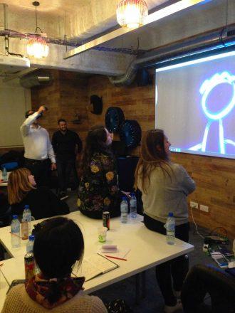 événement en Réalité Virtuelle dans une entreprise